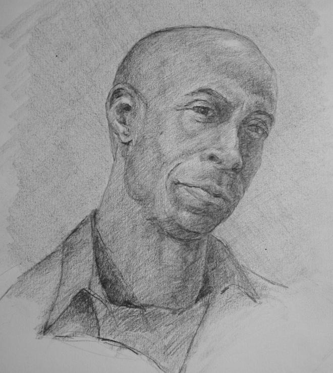 Portrait of D N Narzisse