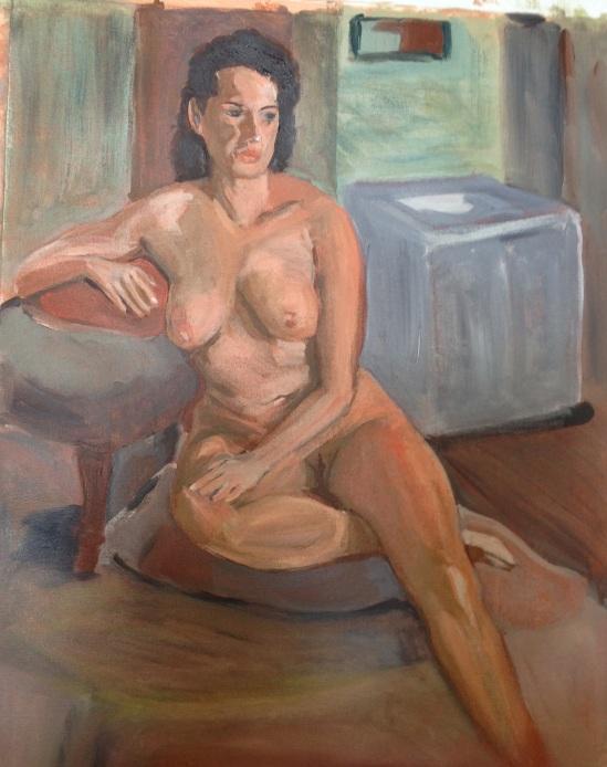Tony's painting