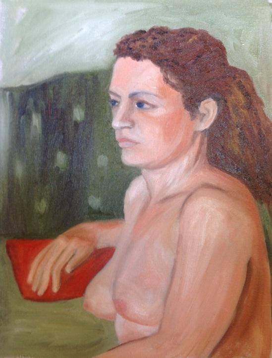 Nita's painting
