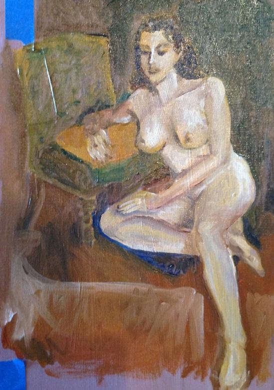 Fletcher's painting