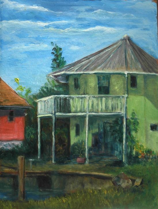 Octagonal house