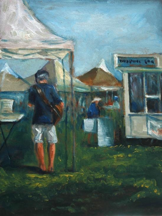 Farmers Market Musician