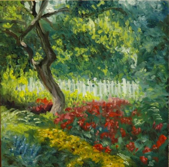 Garden in Prescott Park