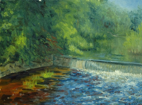 Griffin Mill Dam 2
