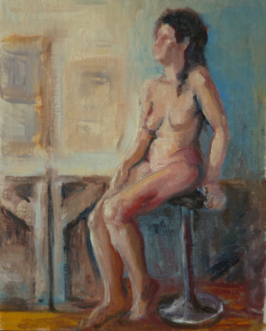 Seated Nude A