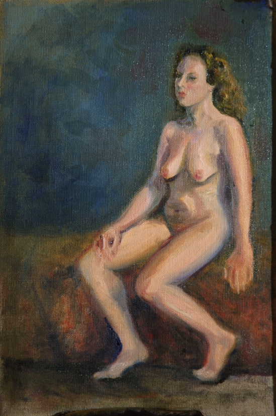 Seated Nude B