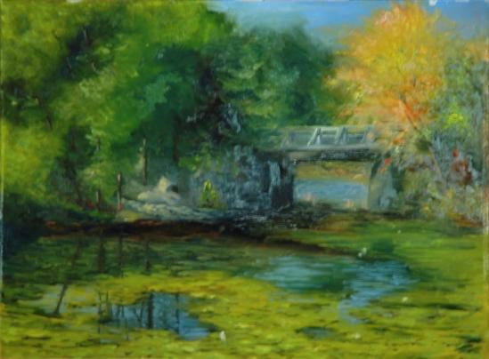 Clark Pond in Auburn