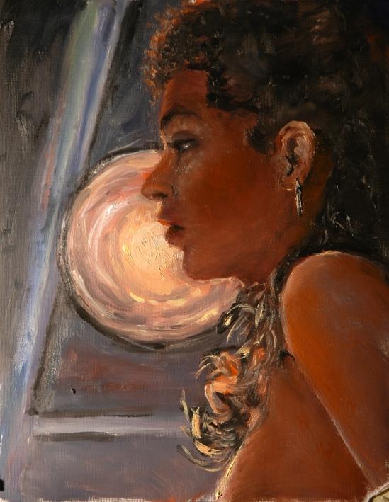 Rebecca in Silhouette
