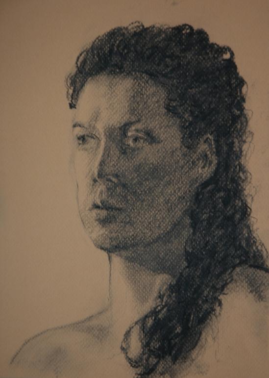 Portrait, Rebecca December 2013