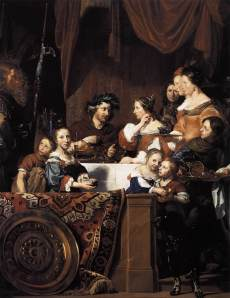 Jan de Bray - The Banquet of Antony and Cleopatra