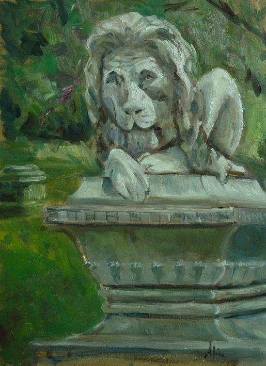 The Sad Lion of Lowell
