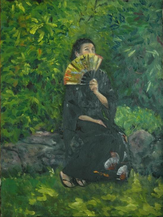 The Black Kimono