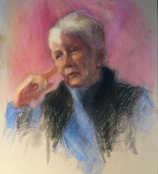 Portrait in Pastel by Nancy H
