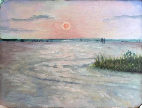 Sunset Watchers No. 1