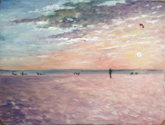 Sun watchers No. 4--The Kite Flyer