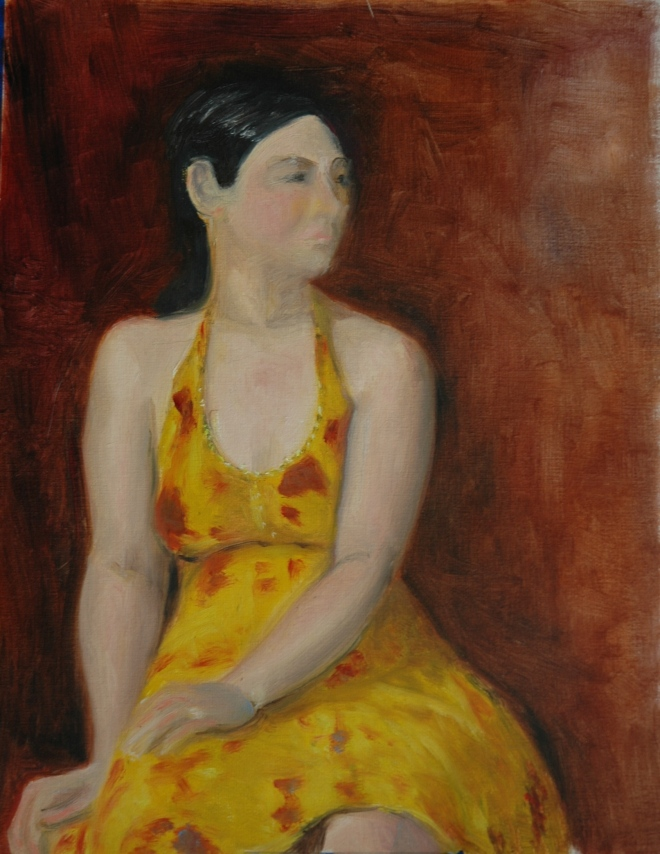 Girl in Yellow (WIP)