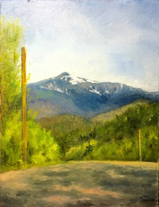 View of Mt. Washington wip