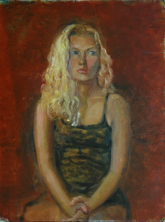 Study for Portrait of Natalie