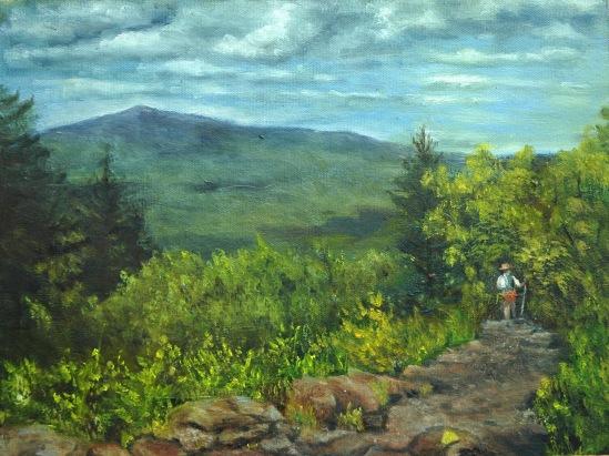 Wapack Trail (Southward)