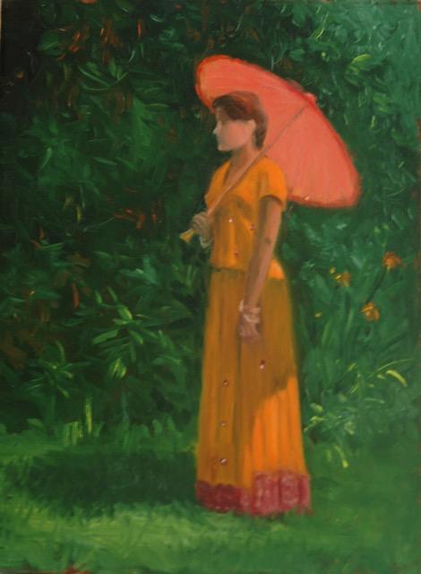 Figure in Orange