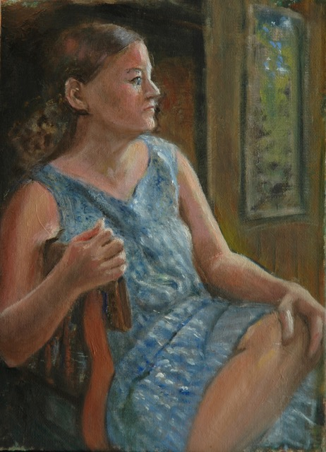 Margaret in Blue