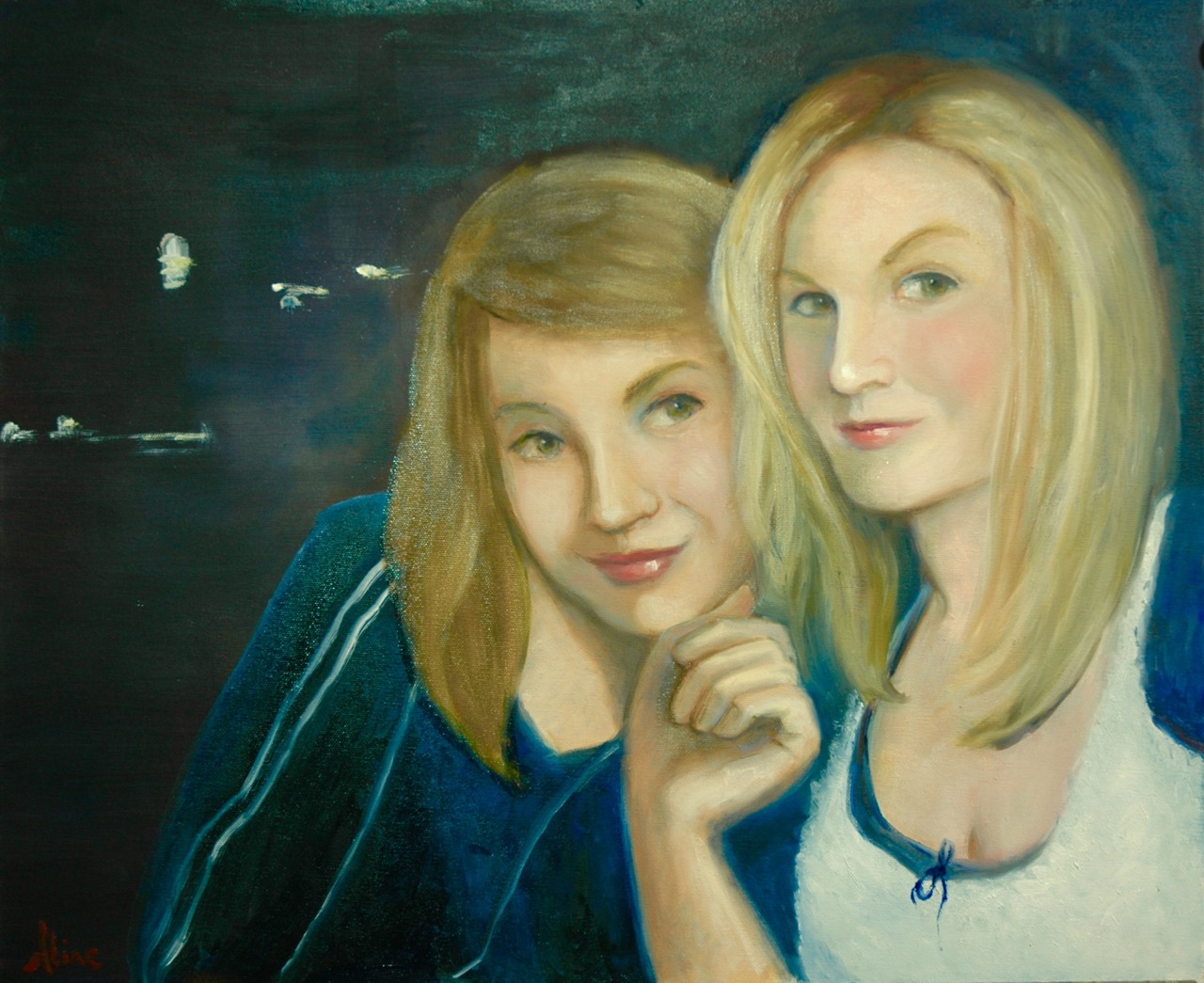 Two Sisters, on Newbury Street