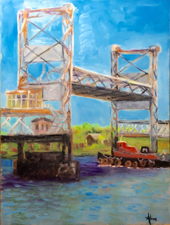 Comin' Through (Memorial Bridge, Portsmouth)