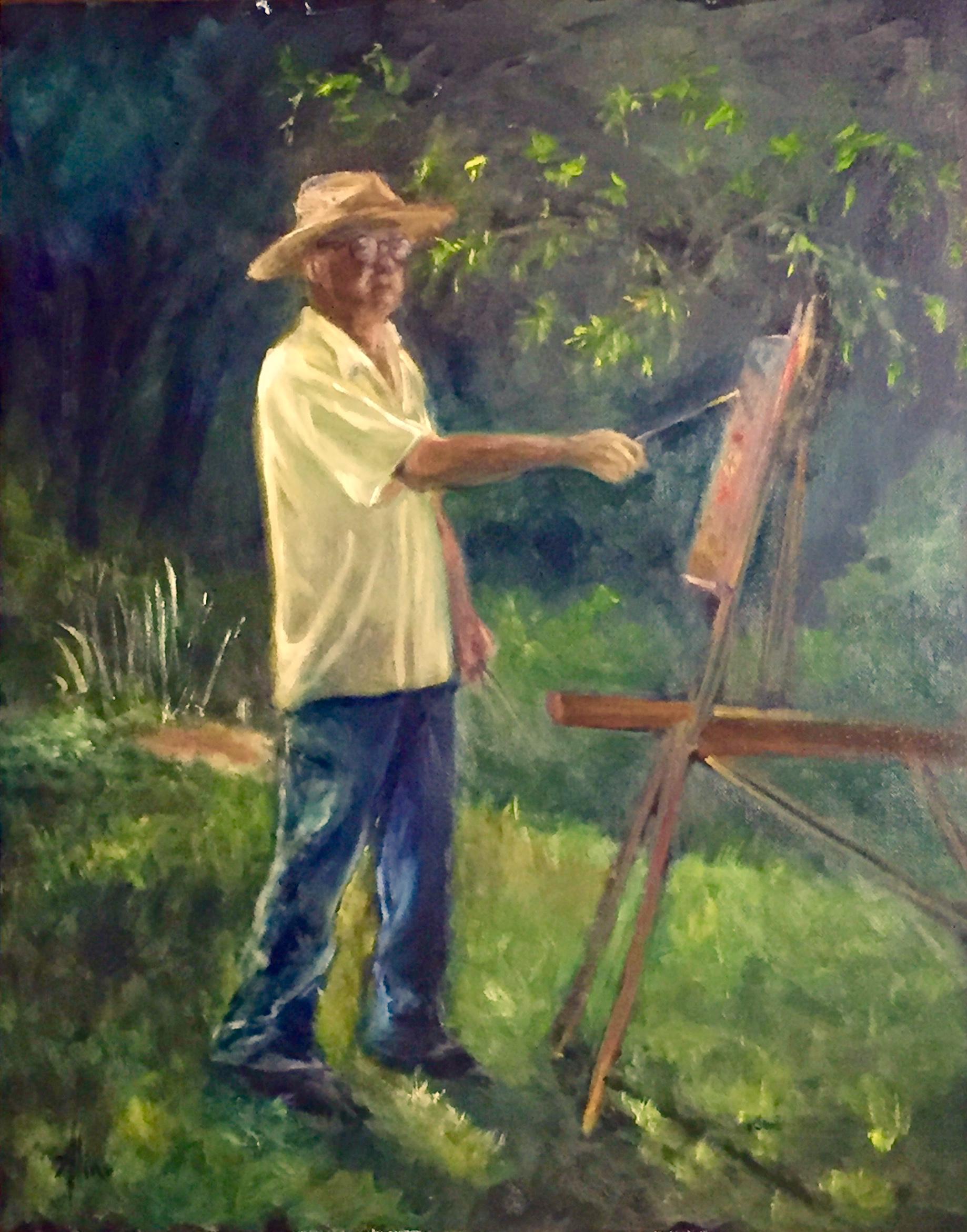 George Martin painting