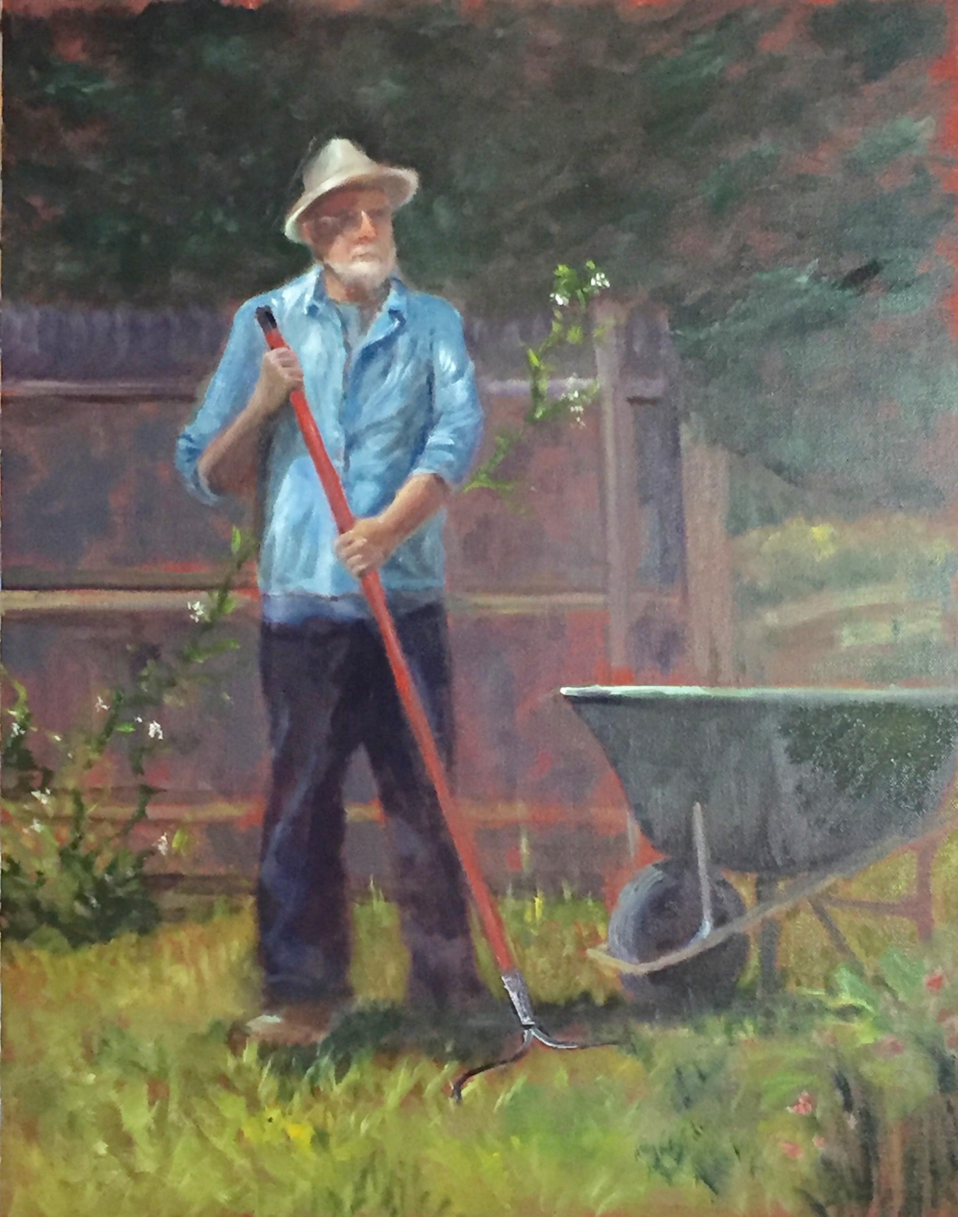 John Brown as gardener