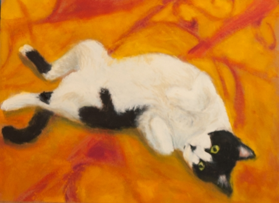 Reclining Cat #1